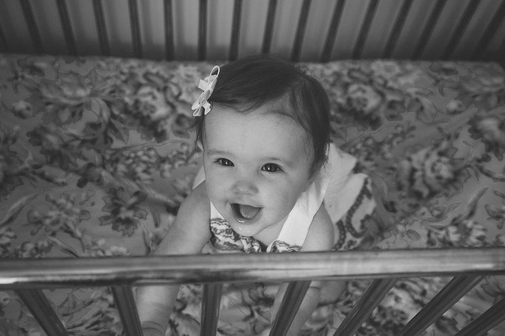 Edmonton Family Photography Vintage Crib
