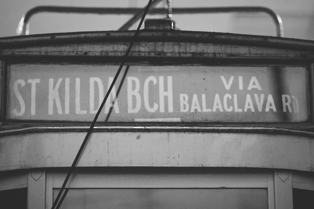 St Kilda Beach Streetcar