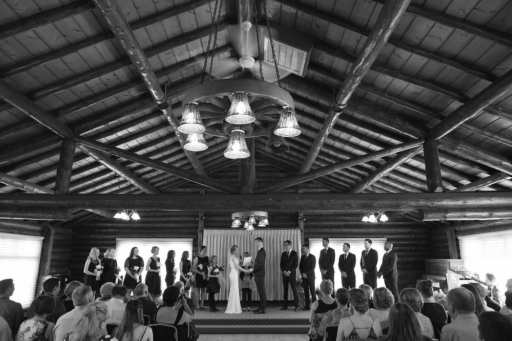old timers cabin wedding