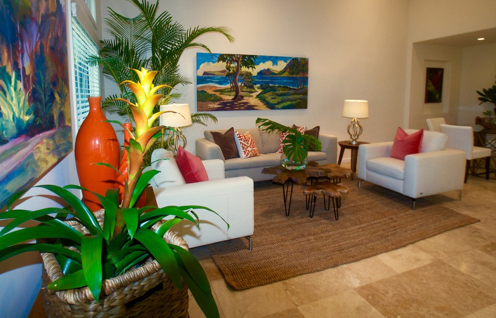941A Kaipii St. Luxury Home Staging Hawaii, Home Staging Hawaii, Inouye  Interiors LLC