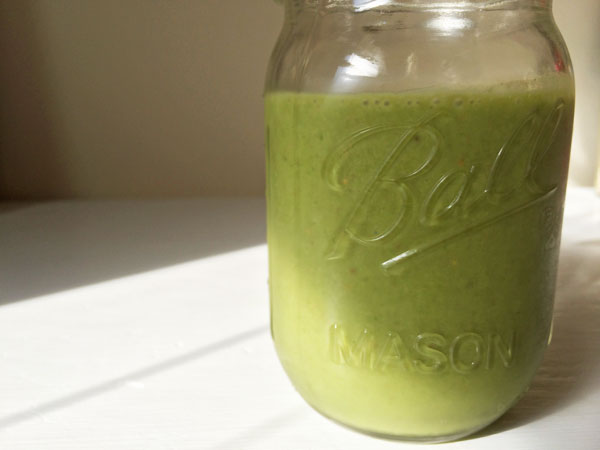 The Goodness of Green Smoothie | via Frame of Reference