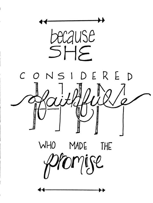 He is Faithful | via Frame of Reference | Copyright Niki Shirkman