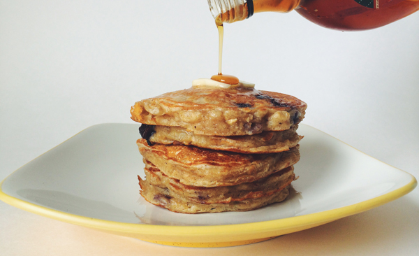 Oatmeal Pancakes | via Frame of Reference