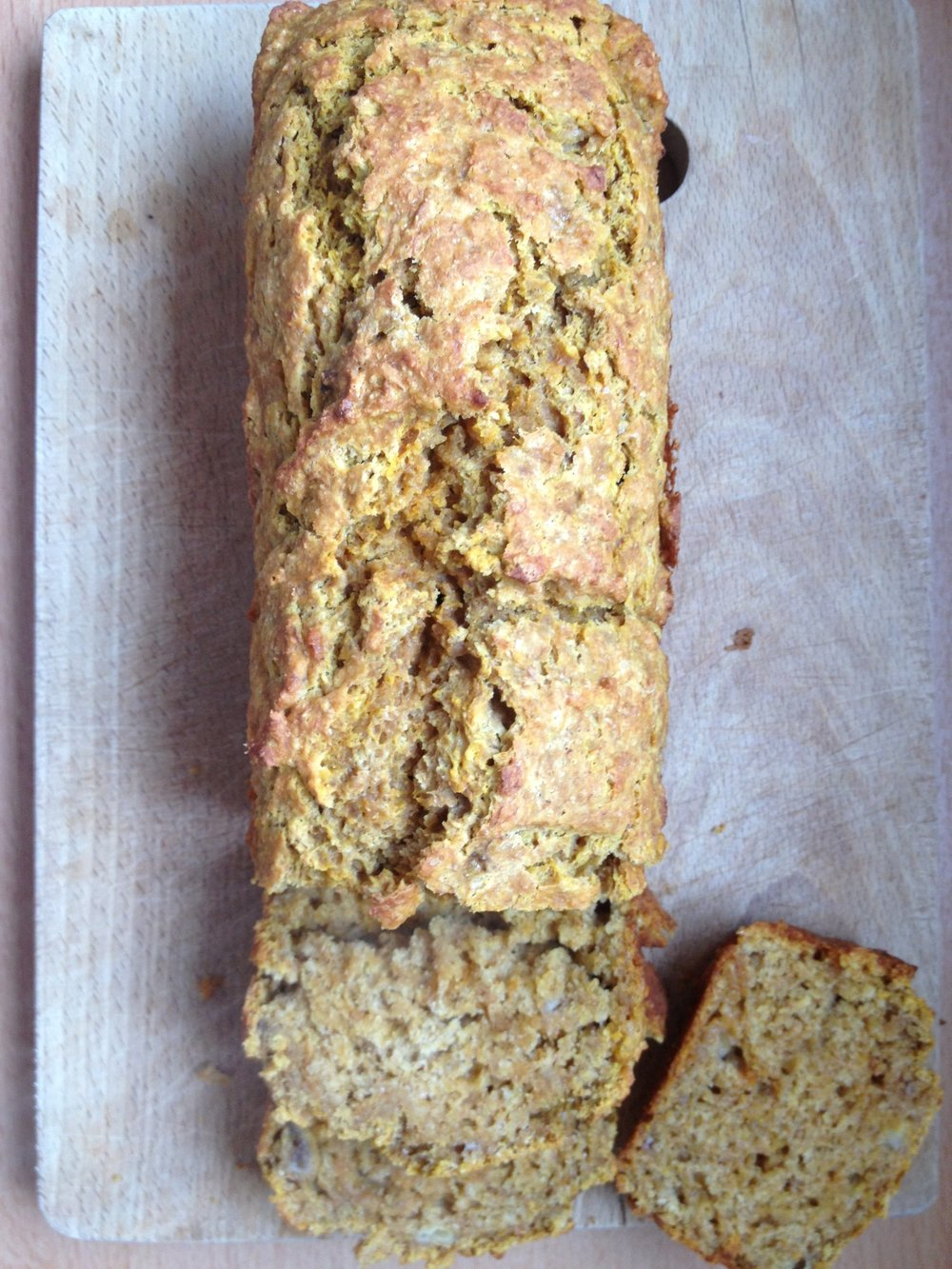 SOURDOUGH PUMPKIN BANANA BREAD