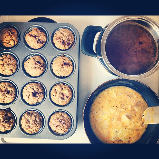 ORIGINAL APPLE CINNAMON MUFFINS