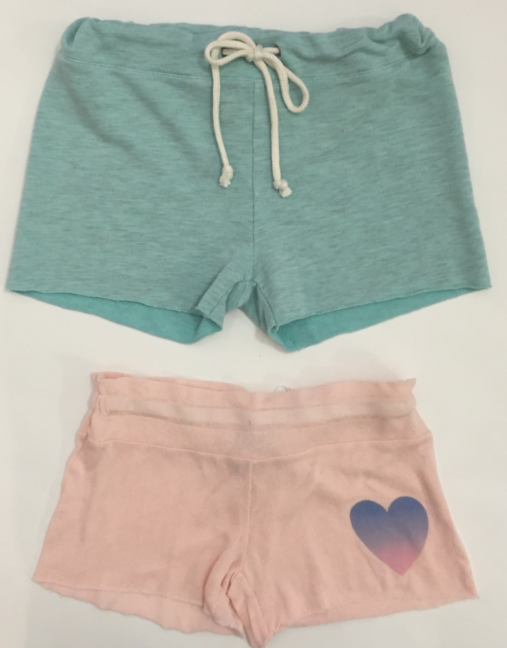Soft sweatshirt shorts are perfect for a day at the beach or hanging out poolside