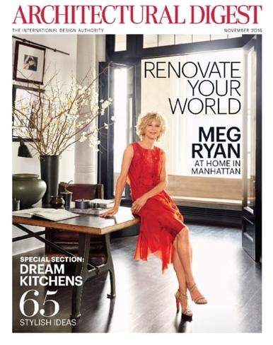Architectural Digest, November 2016