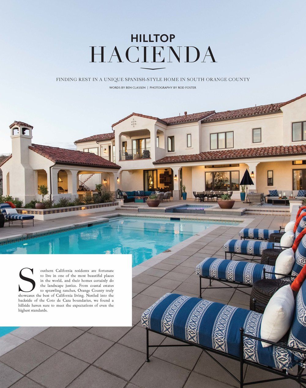 Denise Morrison Interiors Press Feature in Nobleman Magazine Fall 2017 for Hilltop Hacienda 1.jpg