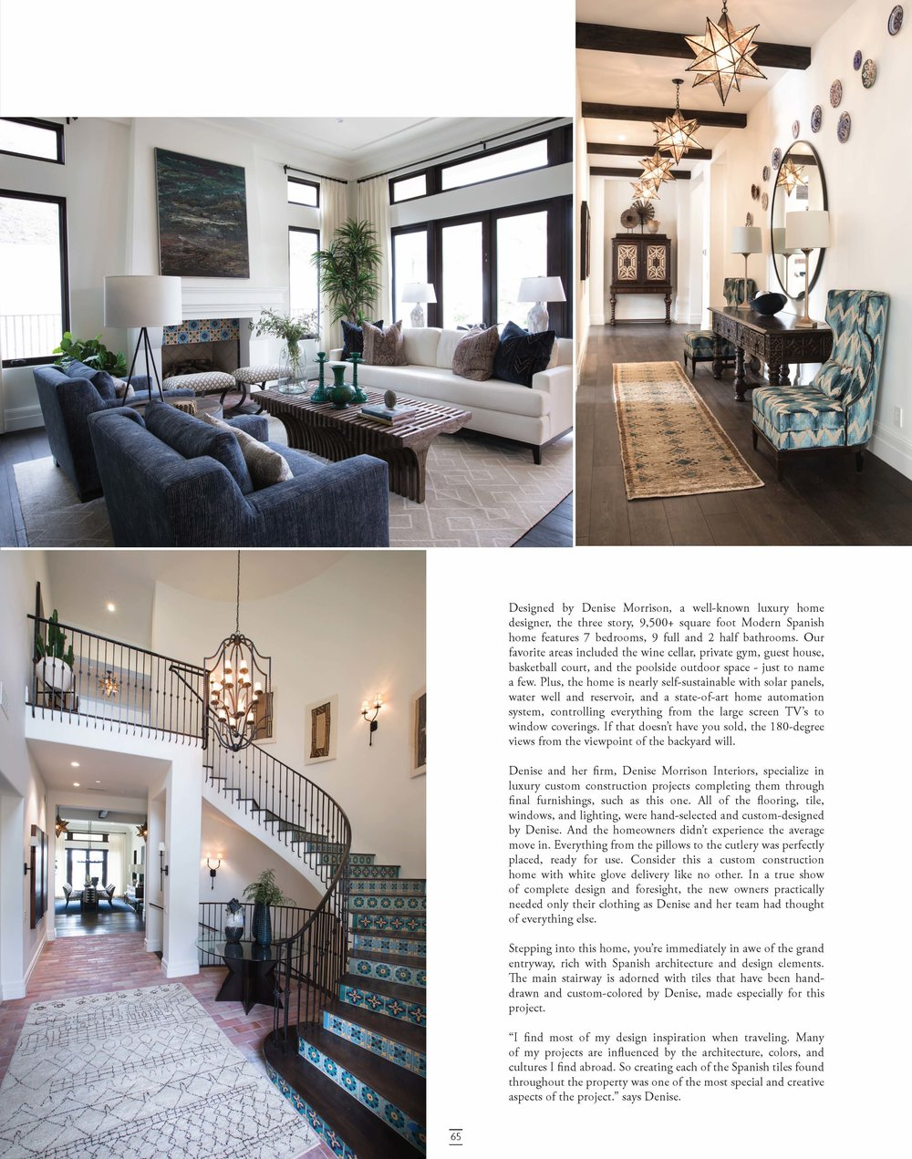 Denise Morrison Interiors Press Feature in Nobleman Magazine Fall 2017 for Hilltop Hacienda 2.jpg
