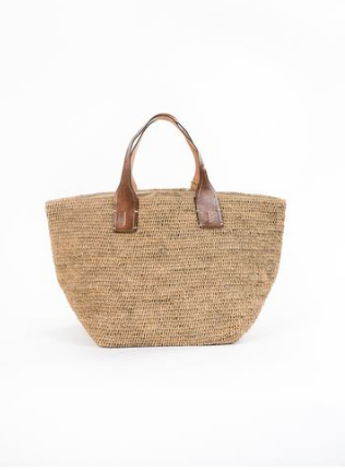 Jarbo Woven Bag, What Designers Wear to Work by Denise Morrison Interiors.png