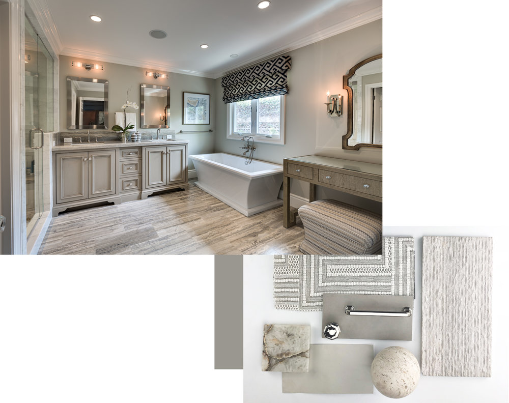 Bathroom from Sailing u0026 Pailing  sc 1 st  Denise Morrison Interiors & My Three Go-To Paint Colors For Interior Design u2014 Denise Morrison ...