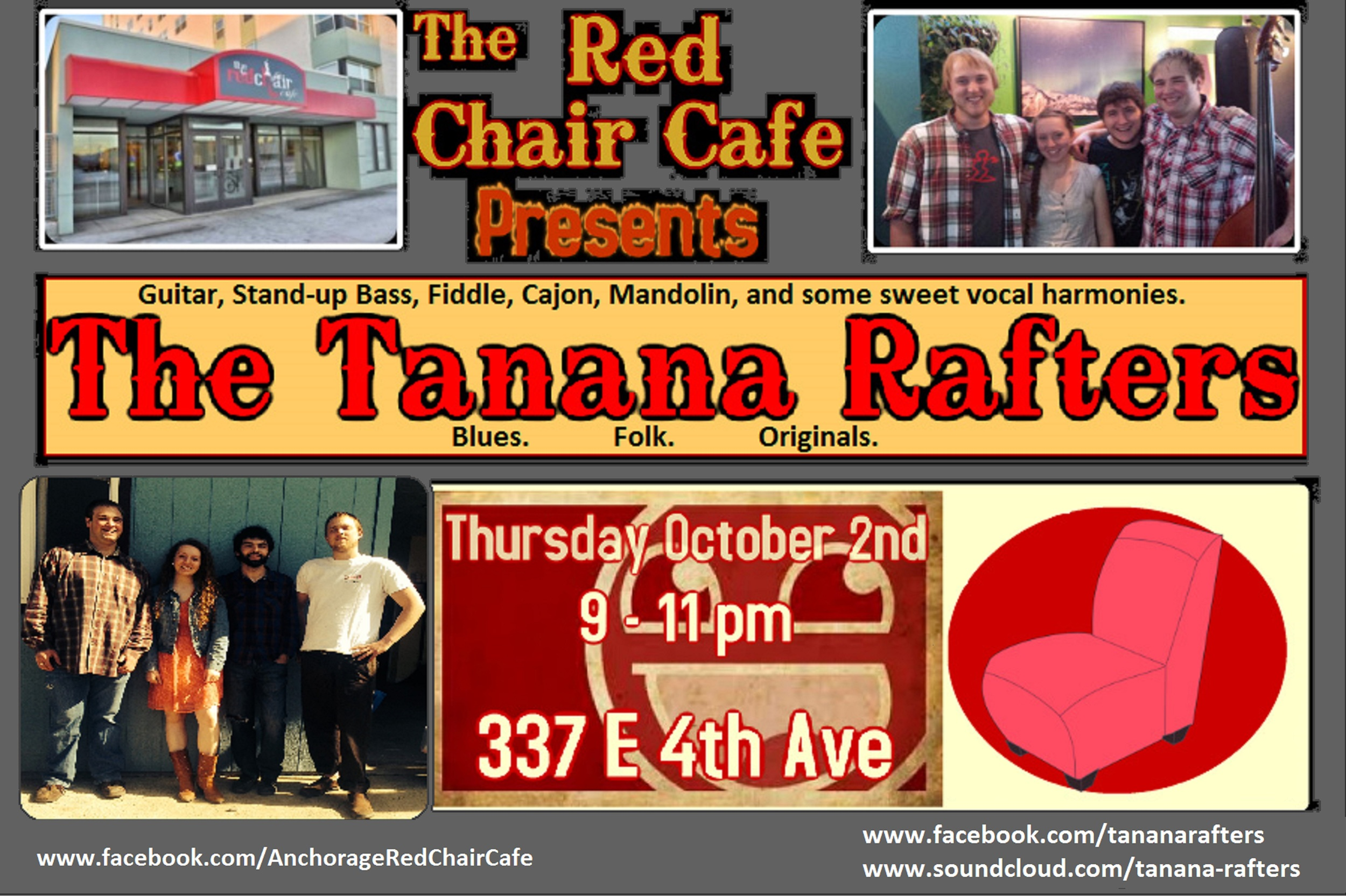Event Details The Red Chair Cafe