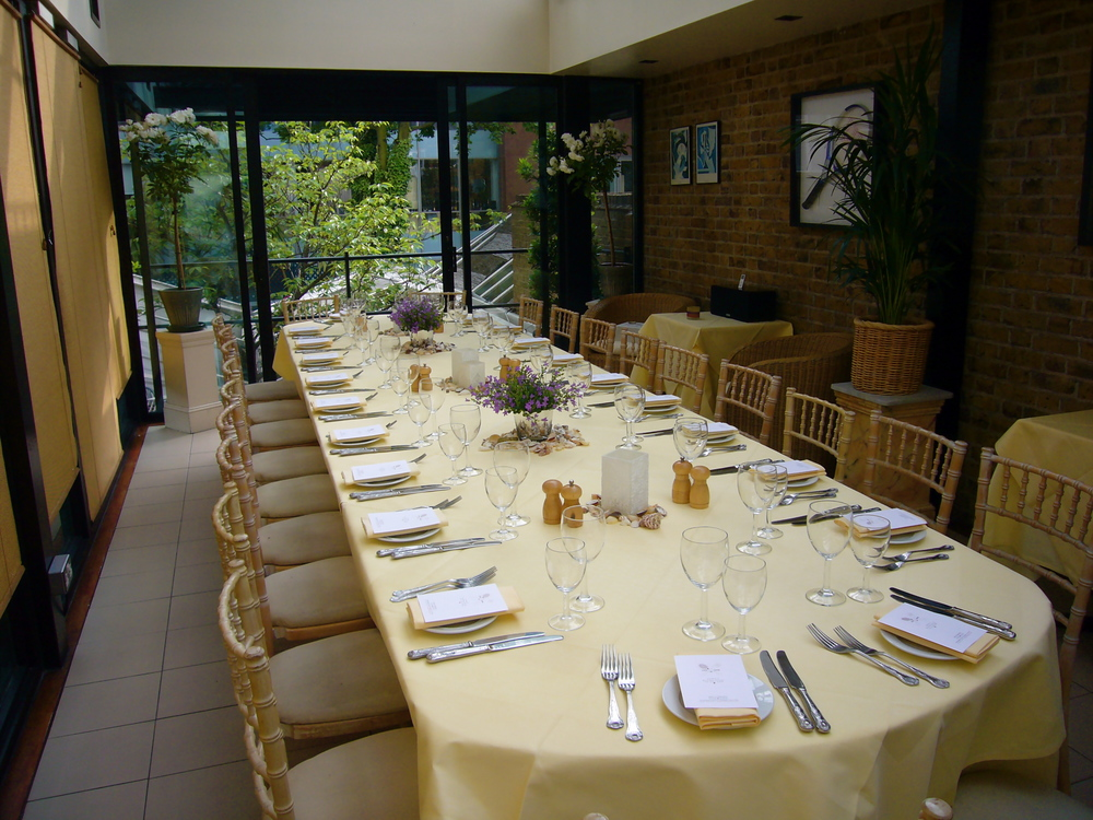 PRIVATE DINING FOR UP TO 26 GUESTS