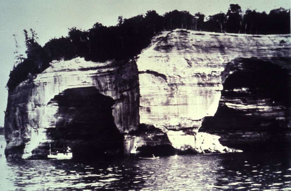 Figure 1: Grand Portal Point before its collapse in 1900 Photo courtesy of the National Park Service