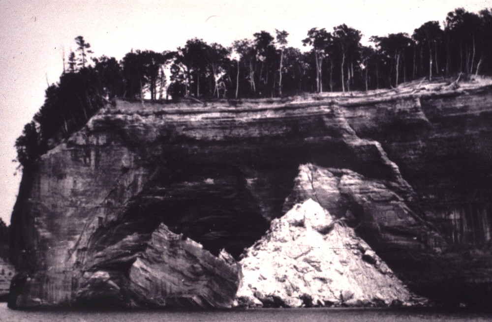 Figure 2: Grand Portal Point soon after its 1900 collapse Photo courtesy of the National Park Service