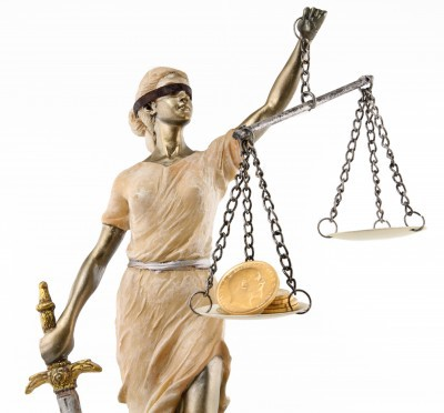 Holding the scales of justice