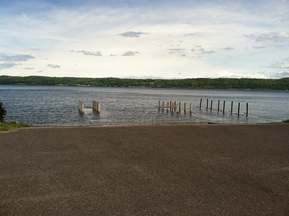Munising Boat Launch July 22. 3:55:15 PM. by Sheriff Robert Hughes.