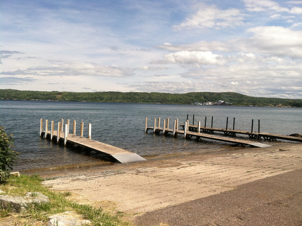 Munising Boat Launch. July 22. 4:22:56 PM. by Sheriff Robert Hughes.