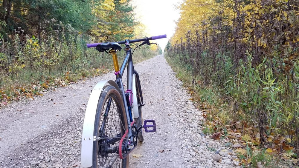 - Doubletrack? Big Gravel? It's all good!