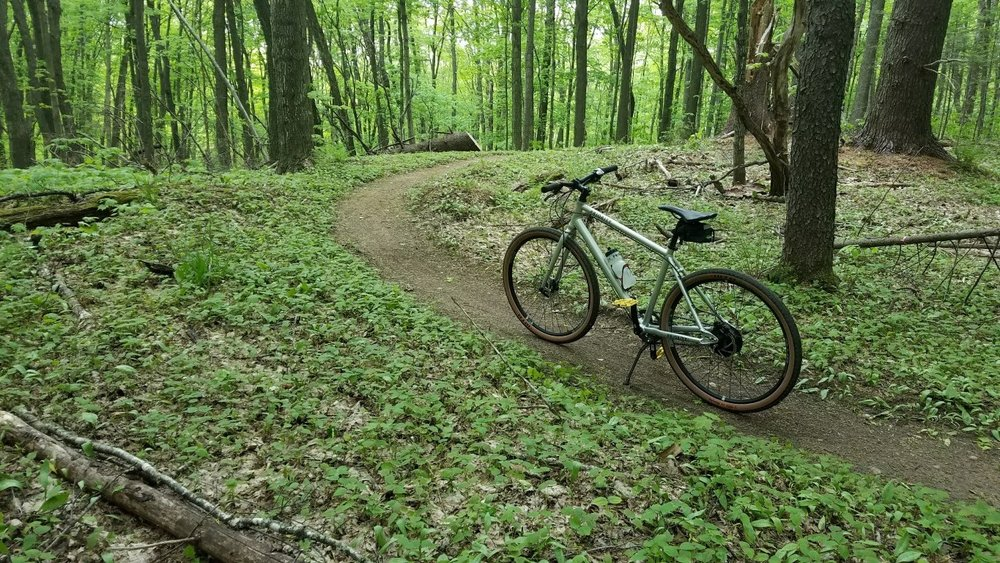 - Smooth Singletrack? Sweet Solitude.