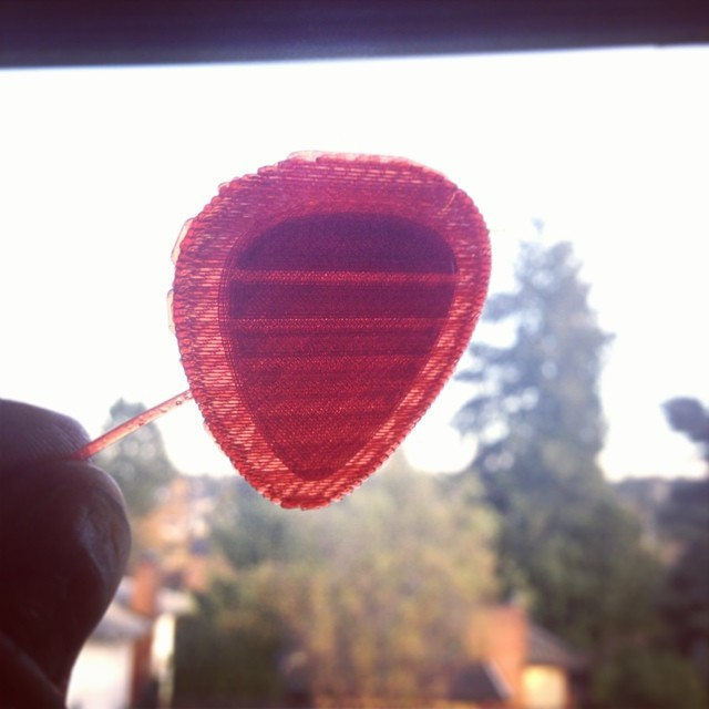 Translucent Deep Red... #splin3 #splin3translucents #dreamincolor #3dprinting #pla