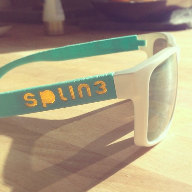 They turned out pretty rad! @2p0eyewear #splin3 #dreamincolor #splin3dotcomingsoon