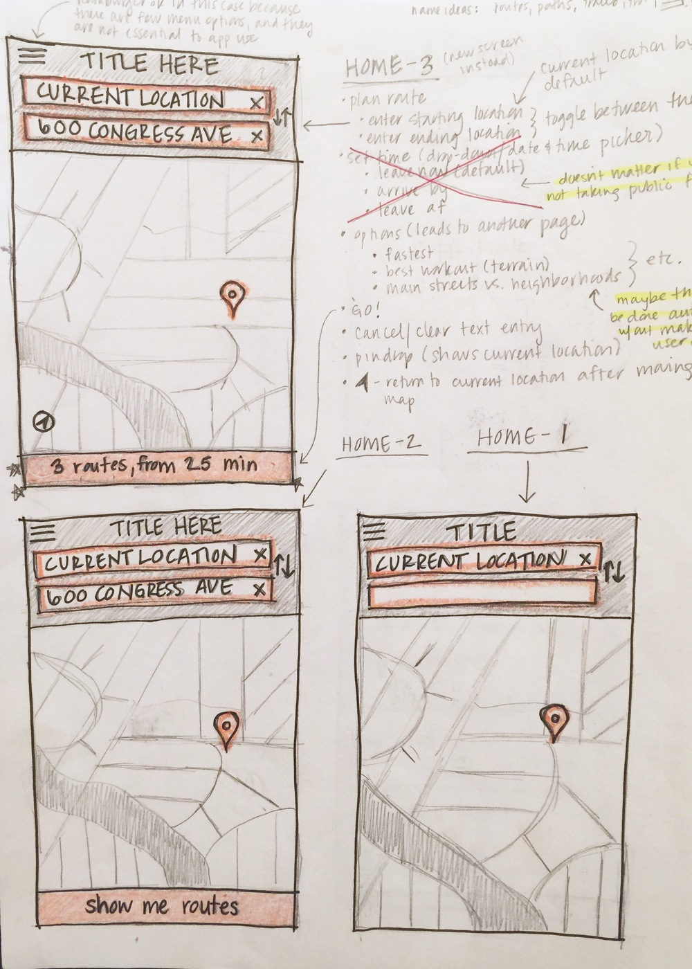 Note: Some notes and annotations added after usability testing.