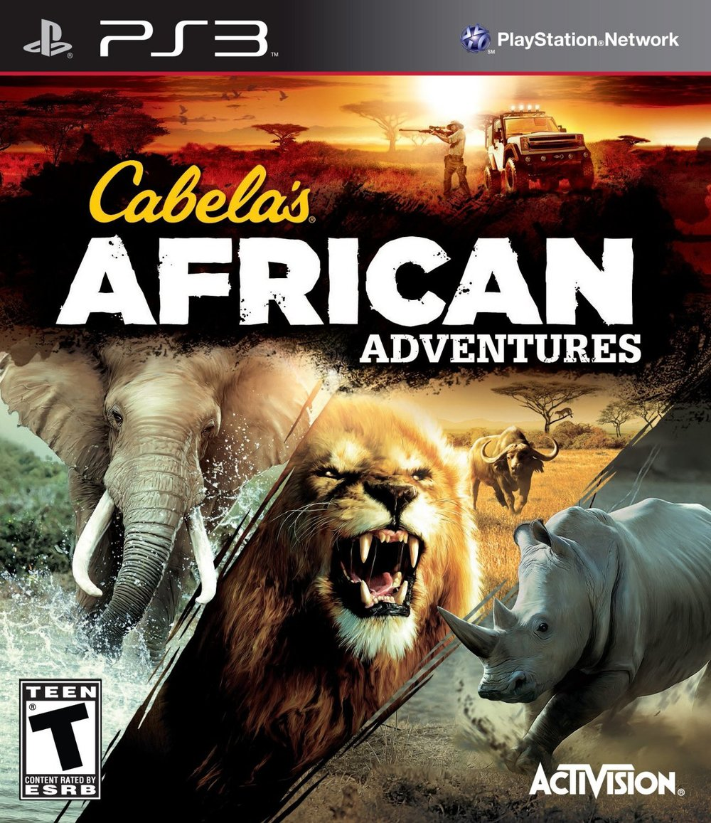 The latest in Cabela's series of hunting games released for PS3, X-Box 360 and Wii