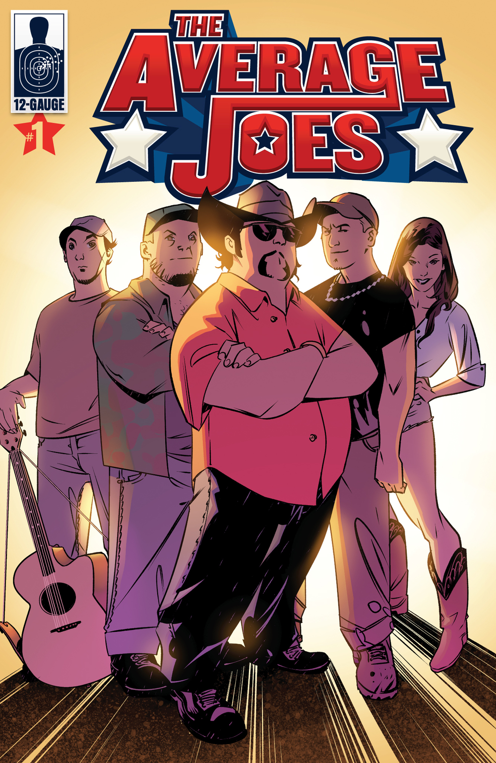 "The Average Joes Comic Series launches as an exclusive part of Colt Ford's album, ""Thanks for Listening"", at Wal-Mart with retail and tour editions to follow."