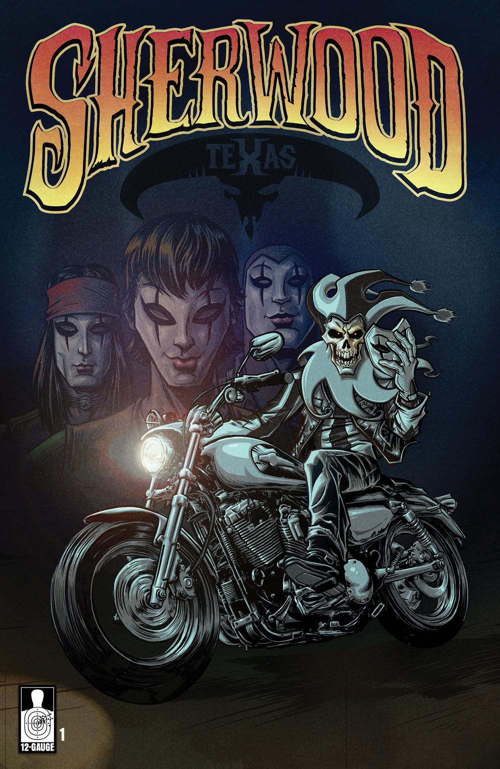 Cover B : Alternate Cover Illustration by M2 Partner, Eben Matthews