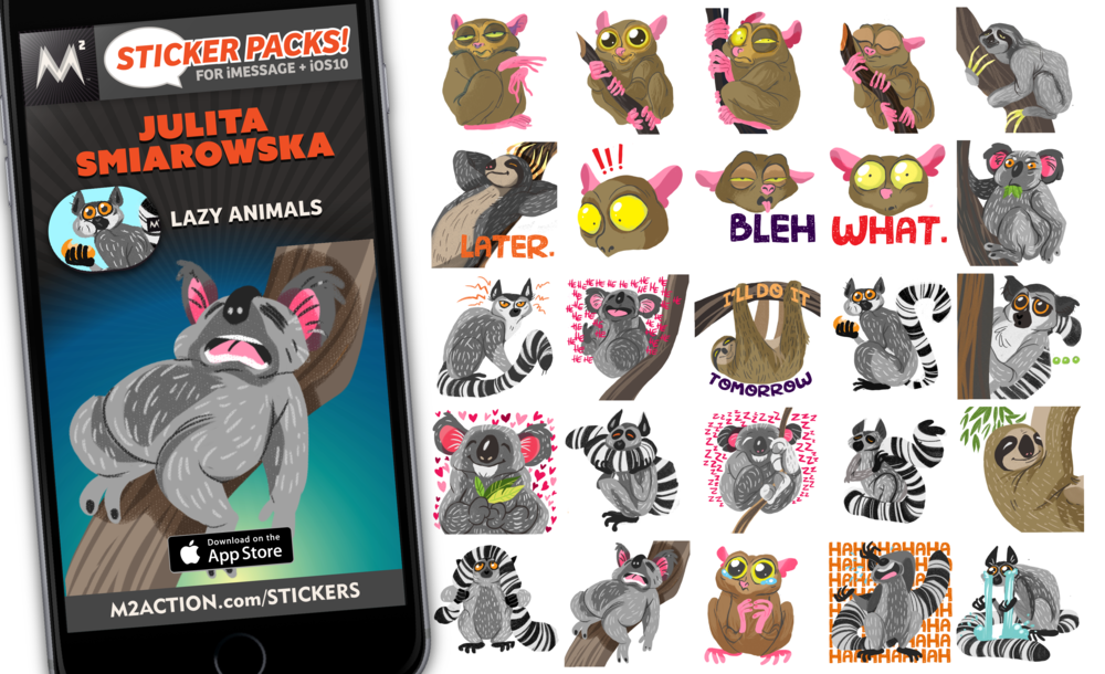 M2_Stickers_Promos_Nov2016_JulitaSmiarowska_LazyAnimals.png