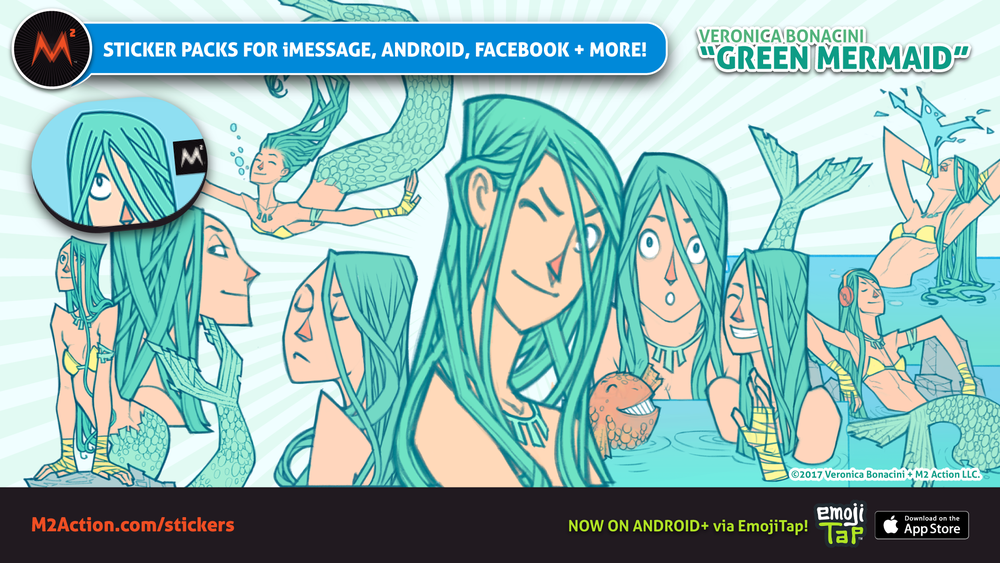 M2_Stickers_Promos_April2017_VeronicaBonacini_GreenMermaid.png