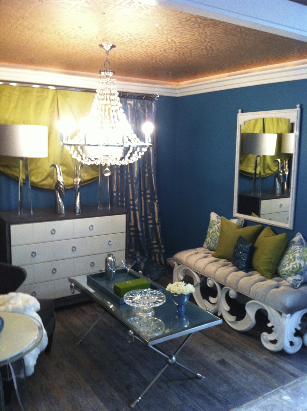 "Interior Designer: Hillary Nichols of HN Interiors space at the Stonemill & Rivera ""White Box Challange"""