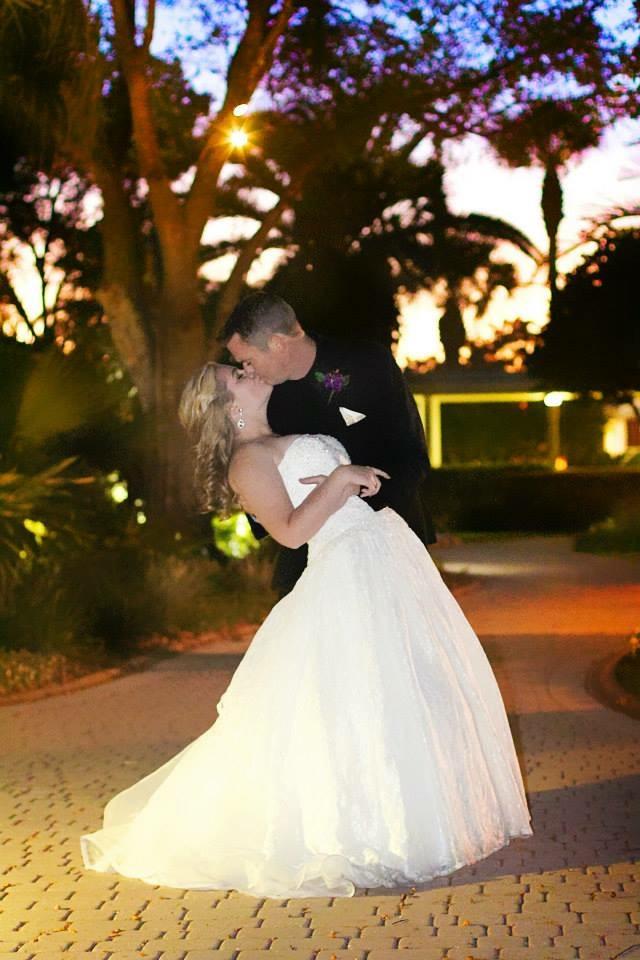 that kiss church wedding