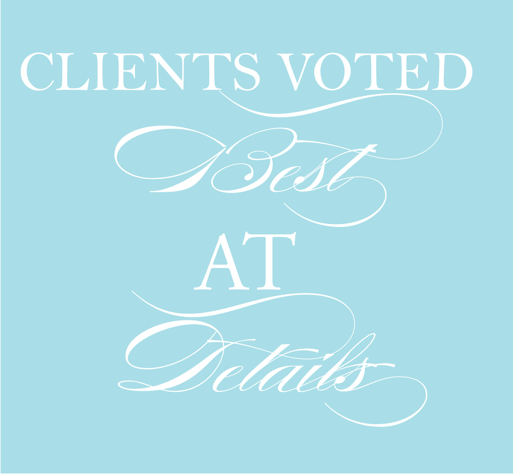 voted best wedding planner