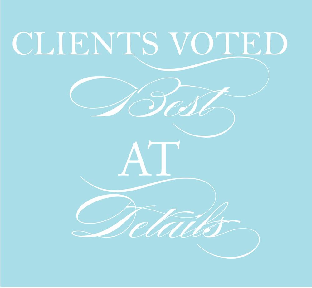voted best wedding planner