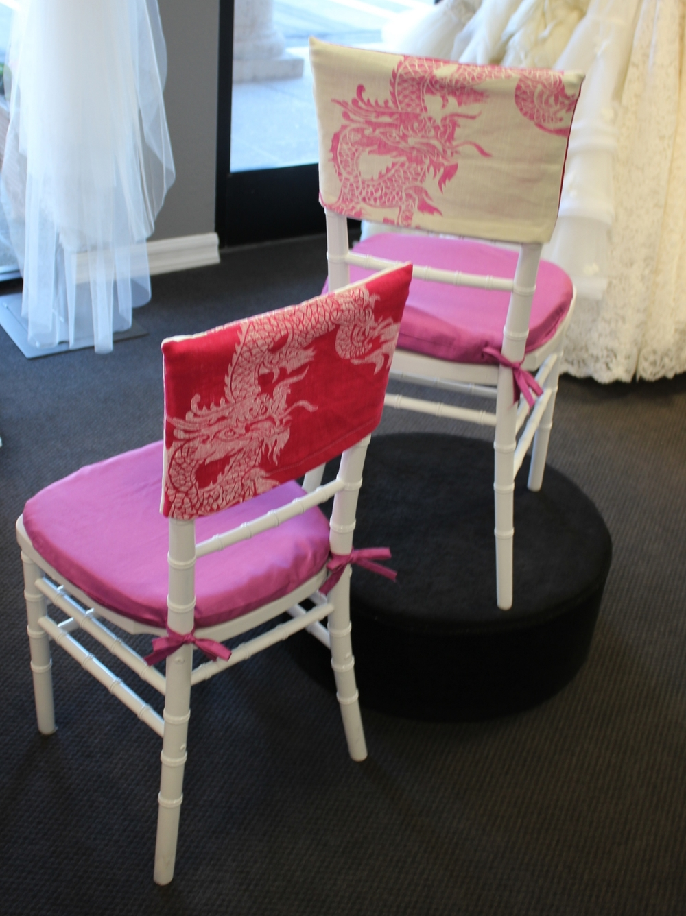 wedding chair covers and caps