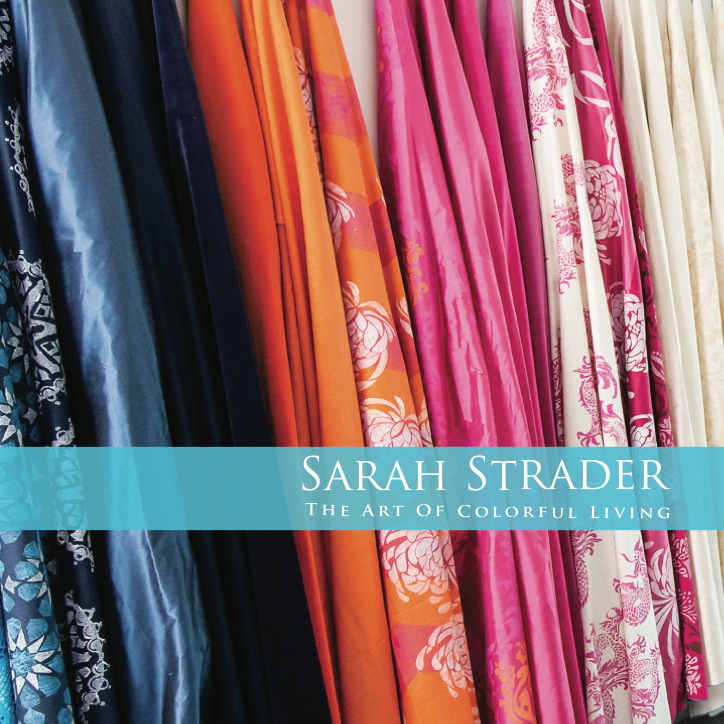 Sarah Strader The Art to Colorful Living