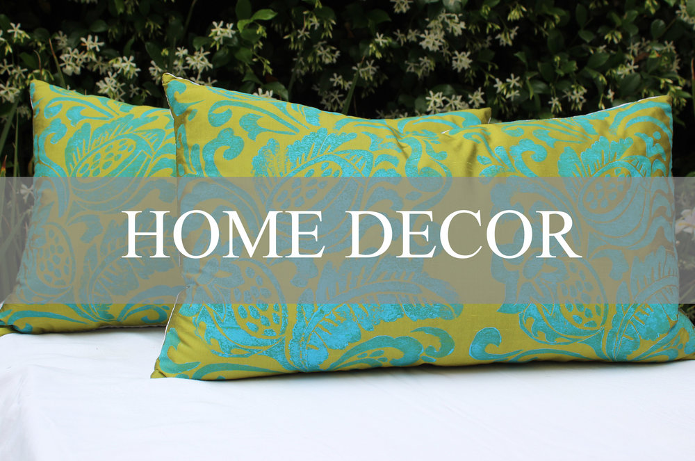 SARAH STRADER HOME DECOR PILLOWS