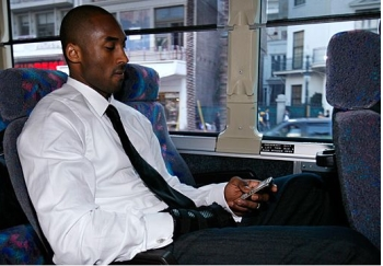 Good Guy Kobe: Not tweeting during Game Time
