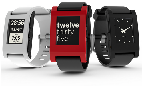 Pebble Smartwatches, which retail for $249. How more square and bulky can you get?