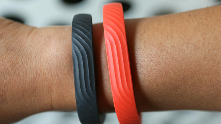 The Jawbone UP, which at $150 resembles a modern-day rubber slap bracelet. Because that went so well last time.