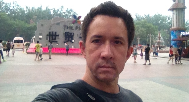 James at The Pace, one of Beijing's many mega-malls
