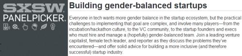 SXSW 2015 Building gender-balanced startups.jpg