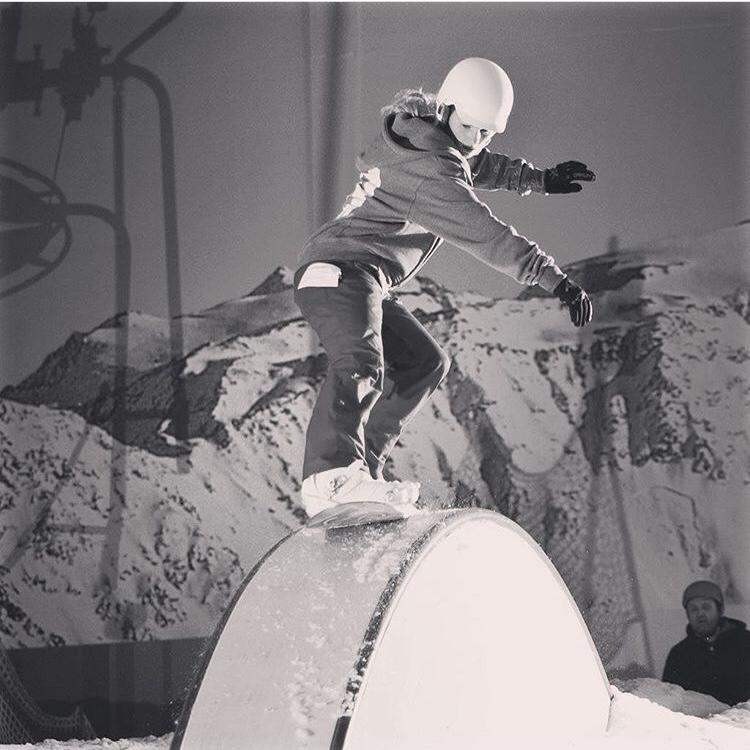 Charlie Hay Snowboarding