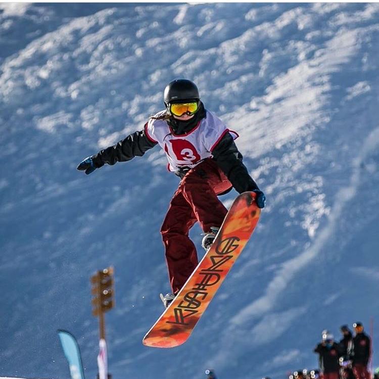 Shonagh Snowboarding