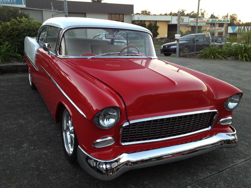 1955 Chevrolet Bel Air Resto-Mod