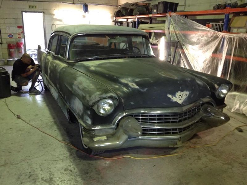 1955 Cadillac Fleetwood for sale australia queensland brisbane - classic car - ol' school garage (2).jpg