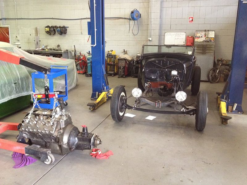 1928 Ford Roadster Hot Rod - Brisbane Queensland Australia _ Ol School Garage (2).jpg