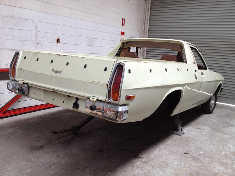 1976 Holden Hj Ute Restoration Ol School Garage